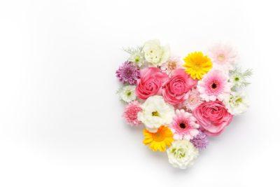 花のハート